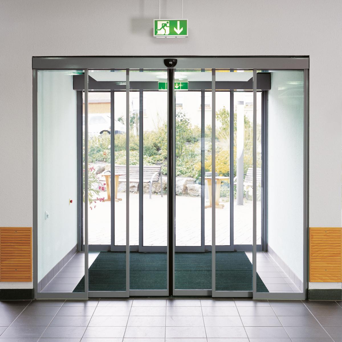 Τηλεσκοπική Αυτόματη Πόρτα